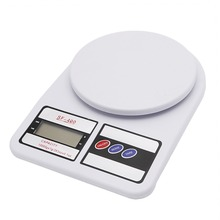 10Kg/1g Digital Electronic LCD Display Ultra Slim Kitchen Weighing Scale New 2017