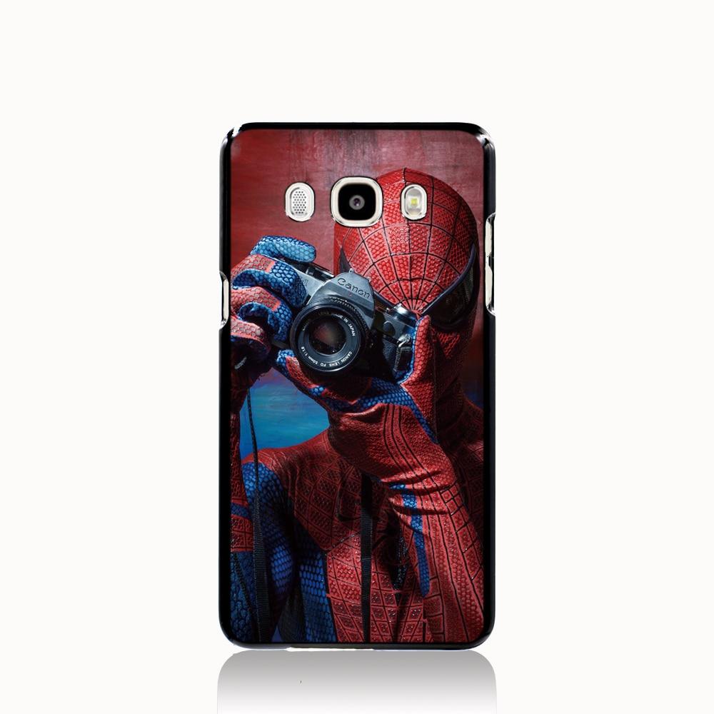 05101 <font><b>Amazing</b></font> <font><b>Spider</b></font> <font><b>Man</b></font> Suit cell phone case cover for <font><b>Samsung</b></font> <font><b>Galaxy</b></font> J1 <font><b>MINI</b></font> J2 J3 J7 ON5 ON7 J120F 2016