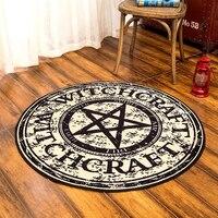 מחצלת עגולה אופנה גיאומטרית CIGI תבנית קסם Creative מטבח אנטי החלקה קיר בסלון מזרן בתוספת גודל שטיח שפשפת מחצלת