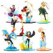 15-18cm de una pieza figura de Luffy roronoa zoro sanji ace Boa Hancock PVC MODELO DE figura de acción de una pieza muñecas de juguete