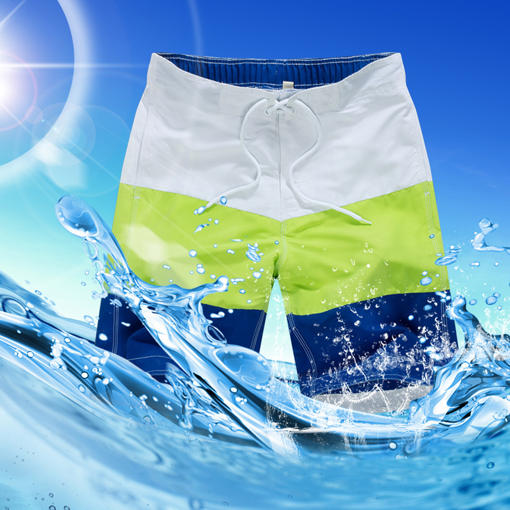 Whosale 2019 New Hot Mens   Shorts   Surf   Board     Shorts   Summer Sport Beach Homme Bermuda Loose Lining   Shorts   Quick Dry   Board     Shorts   1