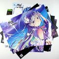 Смешанные 8 шт./компл. Аниме Re: Жизнь в другом мире, нулевой Цифры Эмилия Нацуки Subaru Бэр Беатрис рис. обои/плакаты