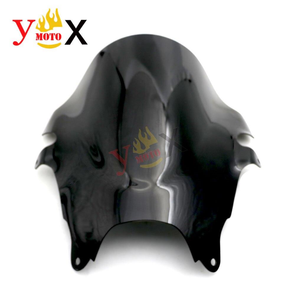 ABS preto Windscreen Windshield Defletor GSF600S do Fluxo de ar Para Suzuki Bandit 600 2000-2005 Bandit 1200 GSF1200 GSF1200S 2001- 2005