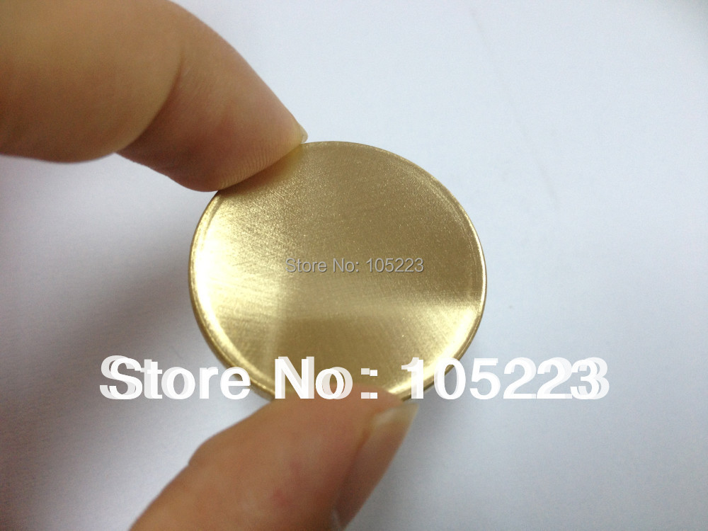 Test Sample Blank Gold Token coin wholesale 100pcs/lot DHL Free Shipping small size Custom design GOLD Plated Coins