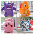 Pokemon Plush Toy Jigglypuff Poliwhirl Charmander Gengar toys sleeping pillow Doll For Kid baby birthday gifts Anime Soft 25cm