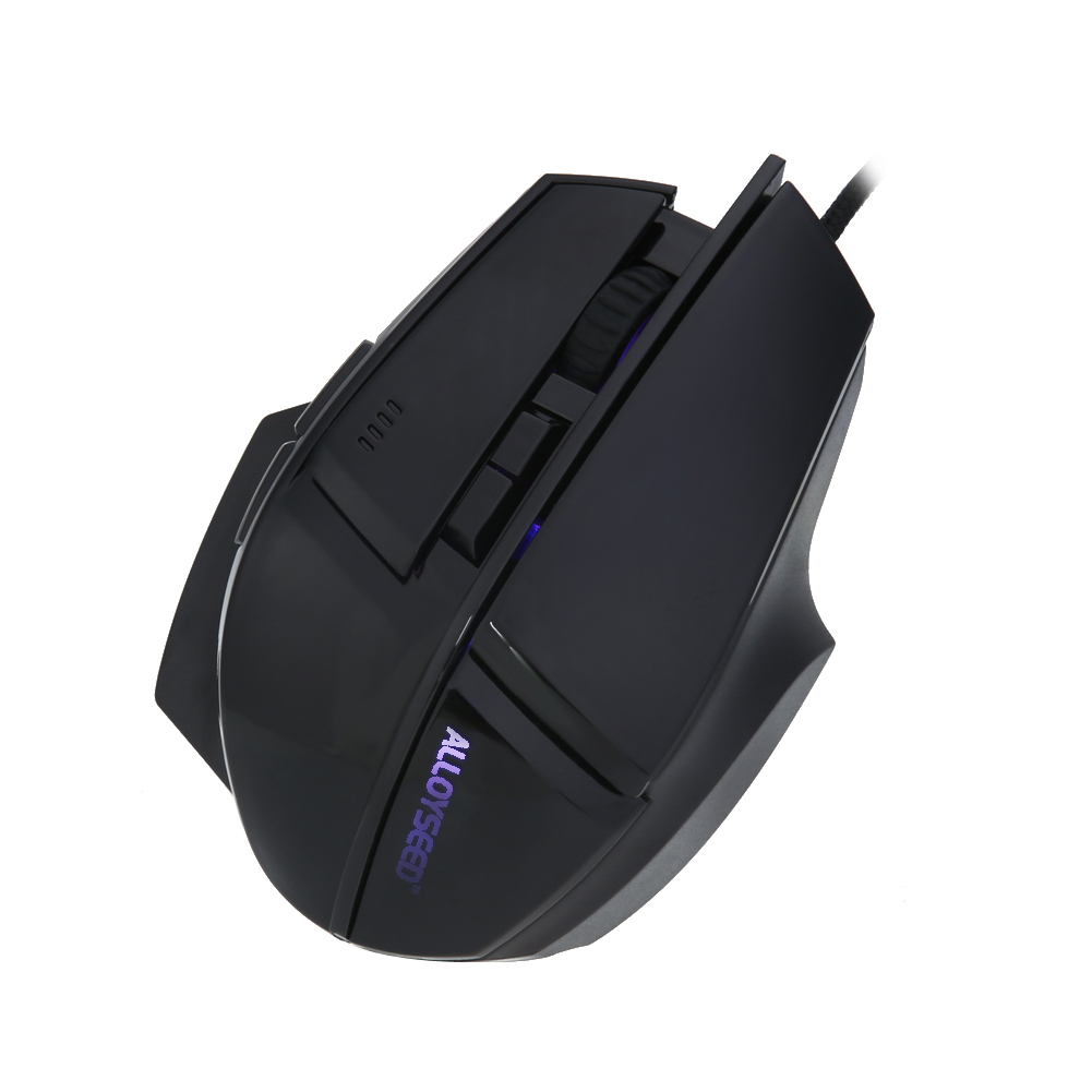 ALLOYSEED Wired Gaming Mouse USB Optical Gamer Mouse 7 Buttons Computer Mouse Gamer Mice 3200DPI Professional Gaming Mice