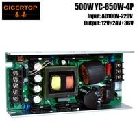 TIPTOP YC 650W 4P 500W Sharpy Beam Moving Head Light Power Supply 330W/350W Dmx 512 Lighting Laser Projector Party Club Dj