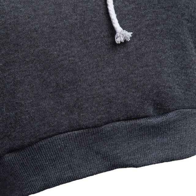 Free Ostrich Tracksuit Women Tops Hooded Pullover Long Sleeve Brief Hoodie Tops moletom kpop feminino Crop Tops C2735