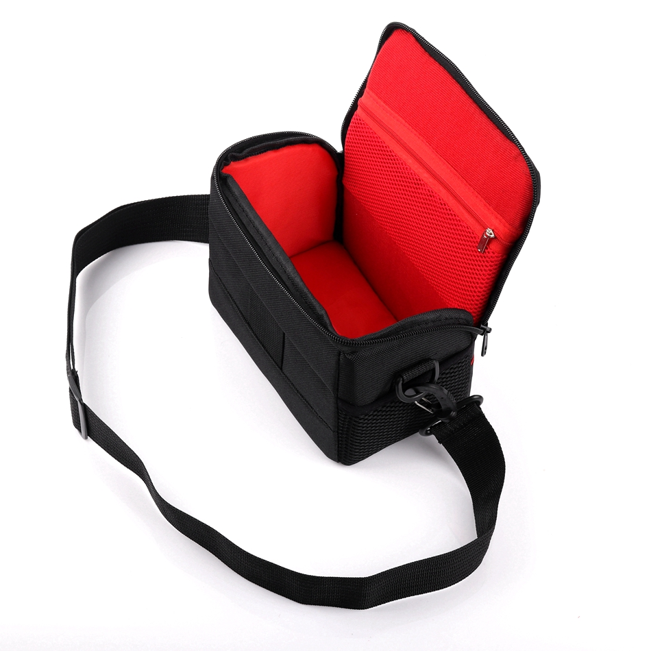 Camera Case Shoulder Bag For Samsung NX3300 NX3000 NX2000 NX1100 NX1000 NX500 NX300 Panasonic Lumix LX100 LX15 LX10 LZ40 LZ30
