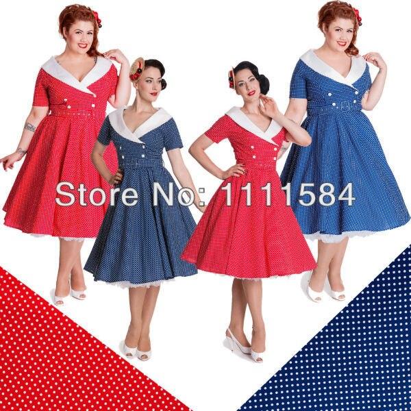 Cheap Plus Size Rockabilly Dress_Plus Size Dresses_dressesss