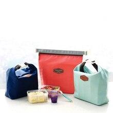 Новый складной мешок обеда свежие сумка-холодильник фруктов, морепродуктов стейк горячая холодная Термальность изоляции сумка льда Пикник пищевых Сумка