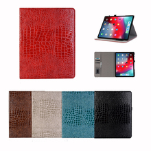 Luxury PU Leather Flip Tablet Case on for iPad 12.9 inch 2017 Card Slot Stand Holder smart Cover Wake Up protective Wallet Case