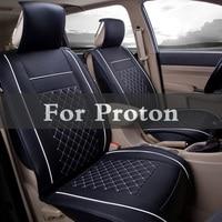 New Luxury Pu Protector Leather Auto Universal Car Seat Covers For Proton Inspira Perdana Persona Preve Saga Satria Waja