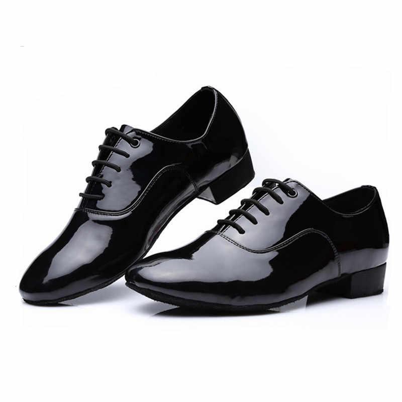 Zapatos Hombre Vestir,Zapatos Hombre Deportivos,Moda para Hombre S/óLido Lace Up Rumba Waltz Prom Ballroom Latin Salsa Zapatos De Baile