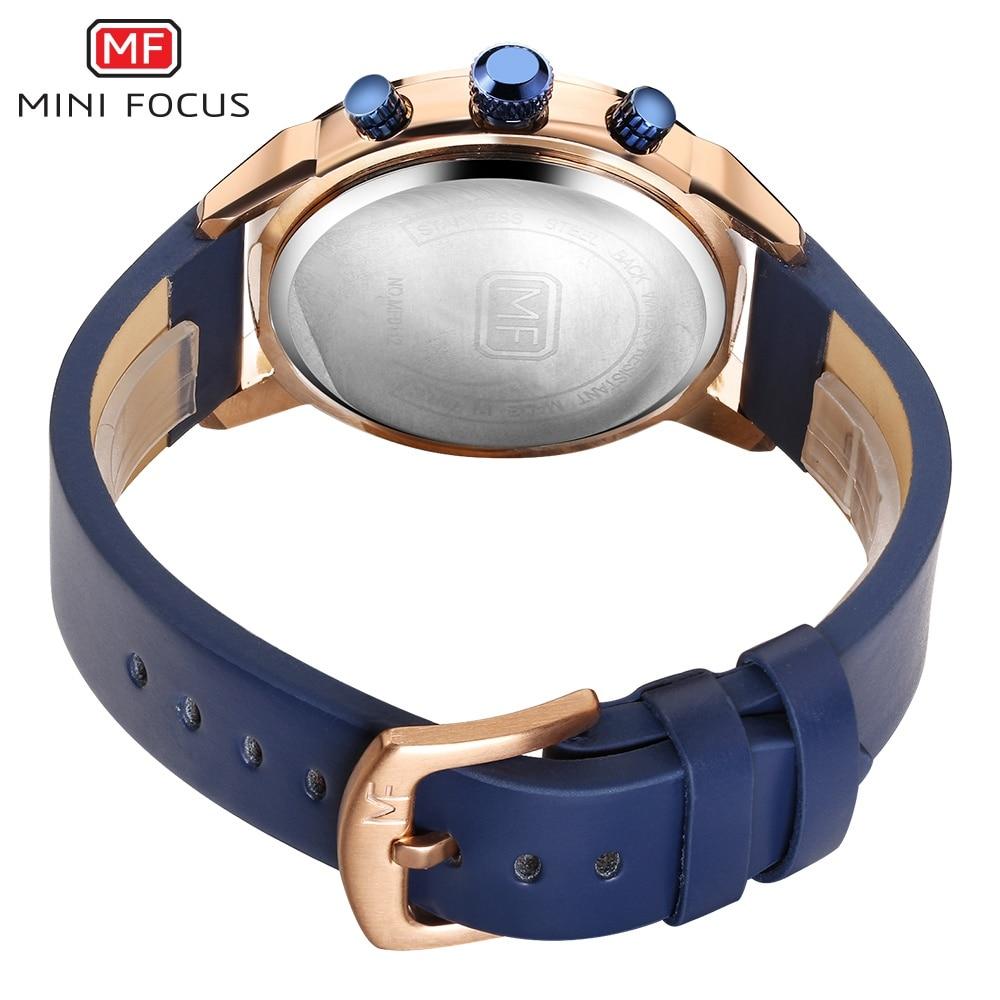 67dc0bb197a Relógios de Quartzo Relógio de Pulso dos Homens Foco Mini Top Marca de