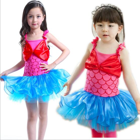 Professional Classical Ballet Tutu Child Kids Princess Little Mermaid Swan Lake Ballet Costumes Ballet Dress For Children Girls