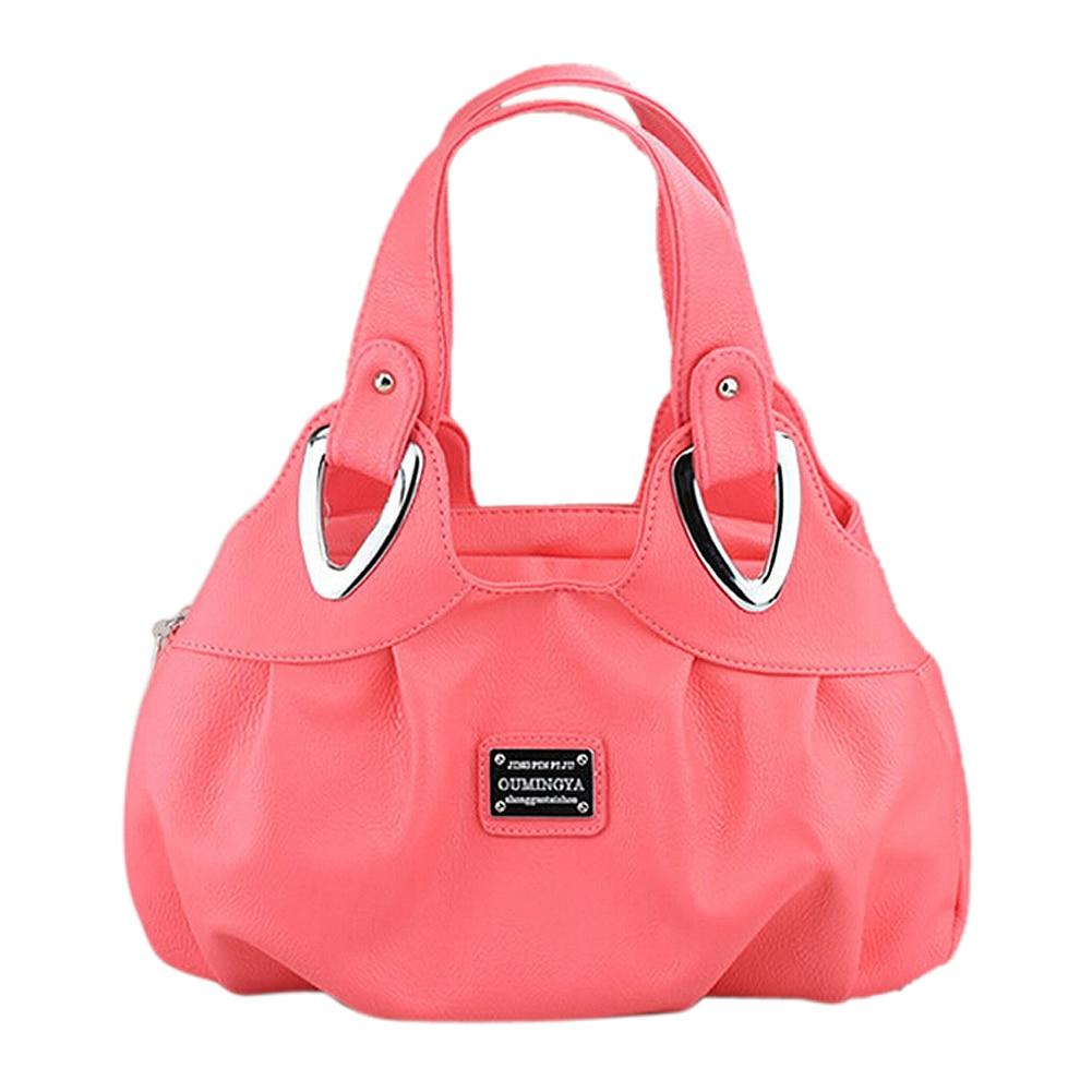 35d6febbe3 Korean handbag beautiful Women PU leather Bag Tote Bag Printing Handbags  six style Satchel drop WHOLESALES WZ50 32-in Shoulder Bags from Luggage    Bags on ...