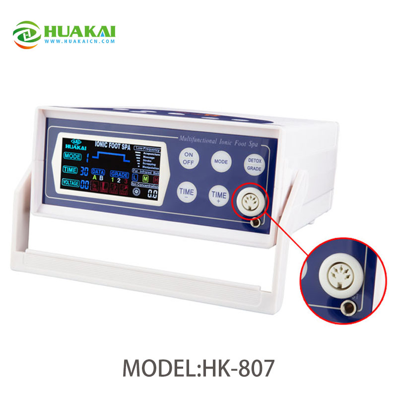 Newly Hot-selling Detox Foot Spa HK-807A 2016 newly hot selling detox foot spa hk 807a