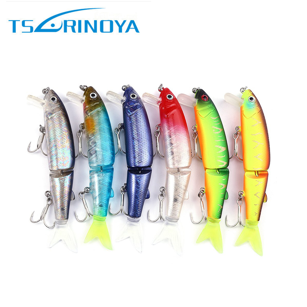 TSURINOYA DW42 1pc Fishing Lures 113mm 13g  Artificial  Hard Lure Minnow Baits with Hook Attractive 3D Eyes 15 5cm 15 3g minnow fishing lure hard artificial swim baits 3d eye swimbait crankbait artificial bait lures 4 hook
