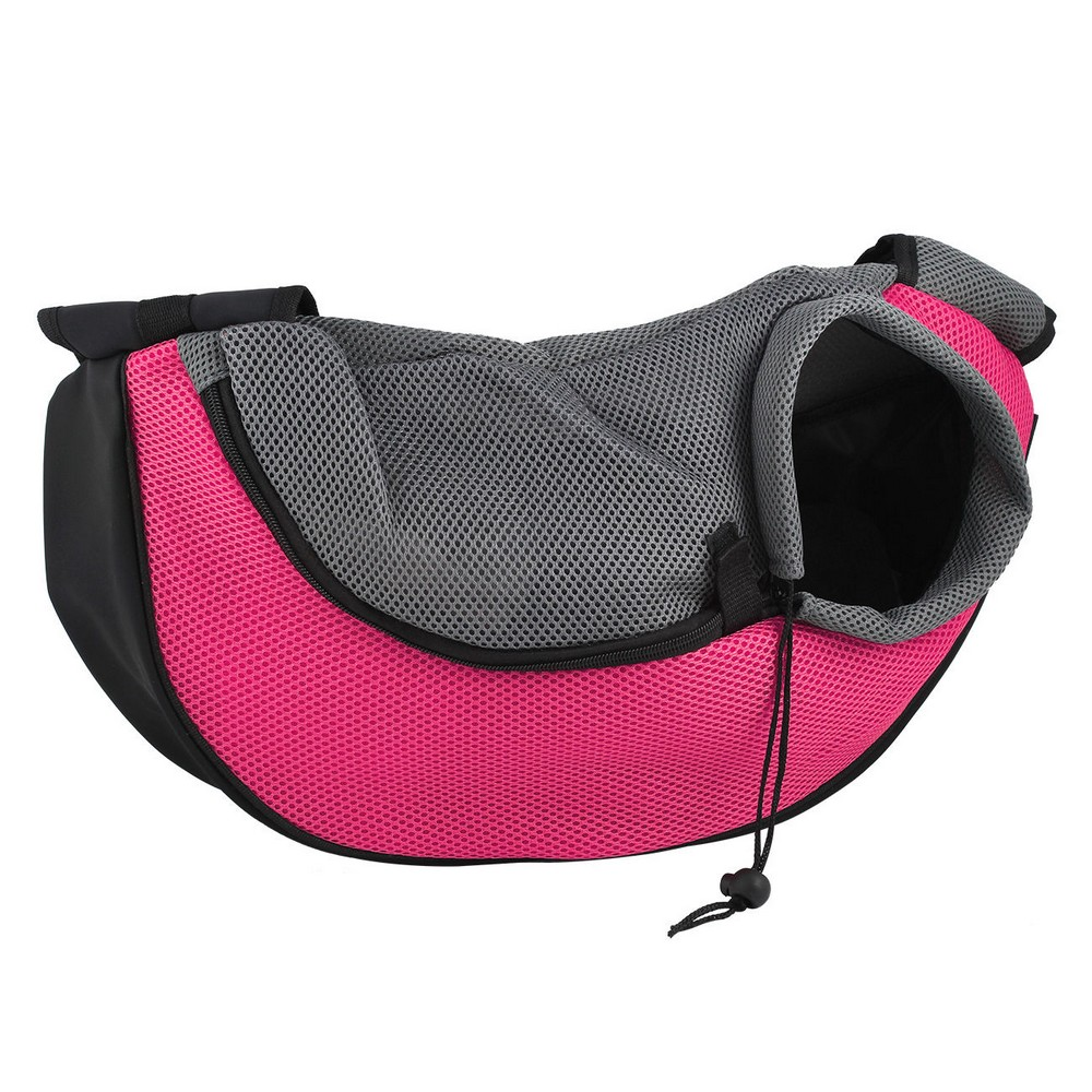 New Pet Dog Cat Puppy Front Carrier Mesh Comfort Travel Tote Shoulder Bag Sling Backpack Comfortable Free Shipping In Carriers From Home