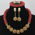 Famous African Coral Beads Jewelry Set  Beautiful  Coral Beads Handmade Large Stock  Free Shipping hx291