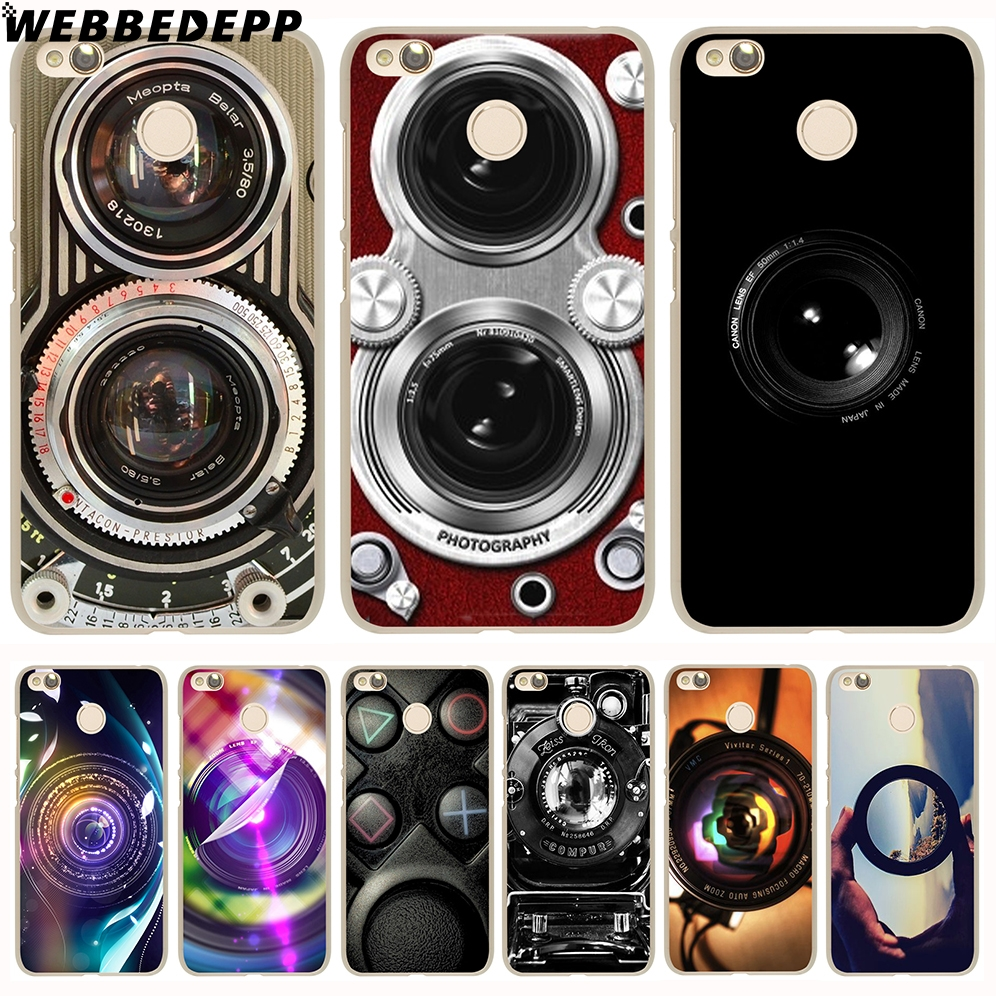 WEBBEDEPP TOMOCOMO Retro Camera Case for Xiaomi Mi 8 SE 6 5S A1 Redmi 4X 4A 5A 5 Plus 3S Note 5 Pro 4X