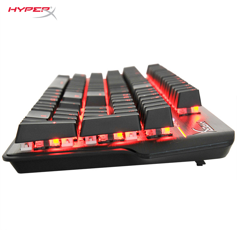 KINGSTON HyperX Mars RGB Mechanical Keyboard Gaming Keyboard Pulsefire FPS Professional gaming Wired USB CK104 Computer Keyboard