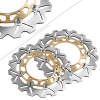 Motorcycle Front Brake Disc Disk Rotors For Yamaha FJR/XJR/XSV1300 & XJ600N & YZF R6/R6 & TDM 900 & YZF600R/1000R THUNDERACE ETC