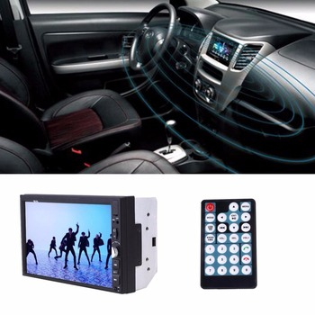 Vehemo 7W 12V 2 Din HD Car Auto Radio Touch Screen MP5 Multimedia WiFi For Android5.1 Remote Control High-definition