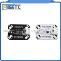 V6 PT100 Amplifier Board Black/White PT100 Sensor High Accuracy Temperature Board Upgrade Amplifier Board 3D printer Part