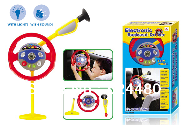 steering wheel toy electronic backseat driver musical toy kids toy children toy