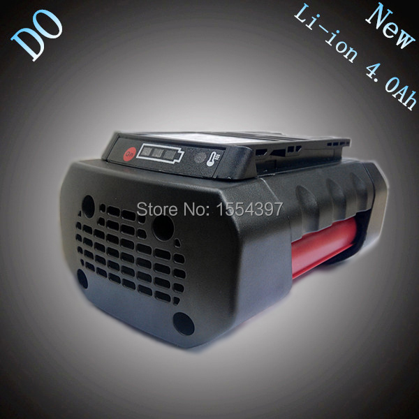 New 36V 4000mAh Rechargeable Lithium Ion Replacement Power Tool Battery for Bosch 36V 2 607 336 003 BAT810 BAT836 BAT840 D-70771 new 14 4v 3 0ah lithium ion replacement rechargeable power tool battery for bosch bat607 bat607g bat614 bat614g 2 607 336 318
