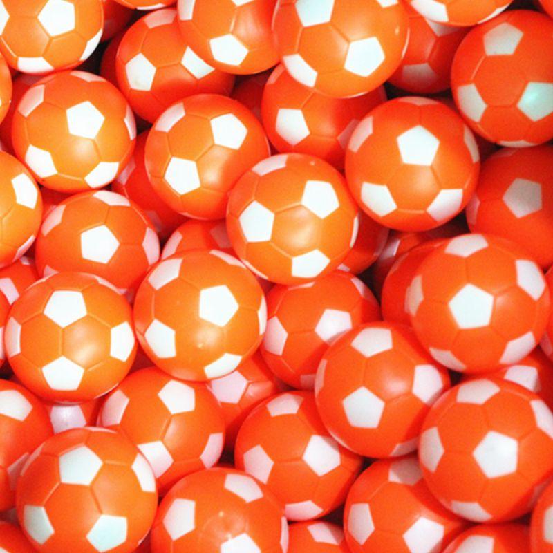 Rodzinny stół do gry w piłkarzyki 36 mm plastikowe pomarańczowe - Rozrywka - Zdjęcie 3