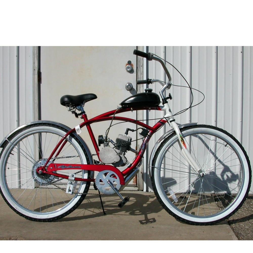 HH Limited Honhill 80cc 2 Stroke Motor Fahrrad Kit Benzin Gas Motorrad Schalld/ämpfer Motorisierte