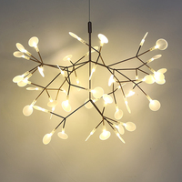 Toolery Post modern LED Chandelier Light Tree branch technique of conductive layers Nordic Art Decoration 30/45 head creative