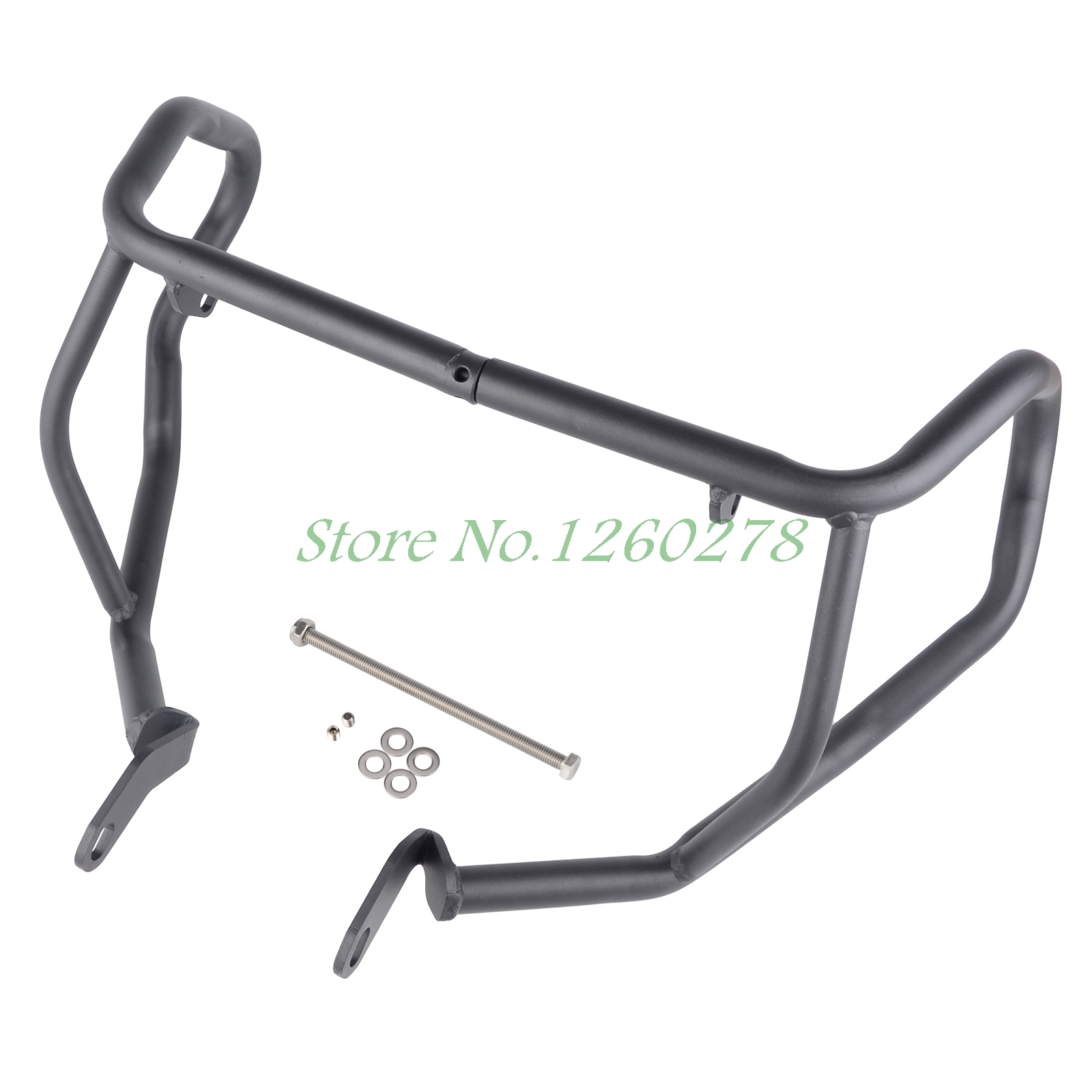 Motorcycle Crash Bar Frame Engine Protection Guard Bumper For Kawasaki ER6N ER-6N 2013 2014 2015 2016 high quality for bmw r1200gs 2013 2014 2015 motorcycle upper engine guard highway crash bar protector silver