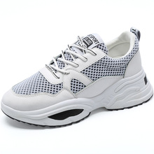 Outdoor Sneakers Women Pu and Mesh Casual Flat Walking Shoes New Fashion Lightweight Breathable Good Quality Shoes JINBEILE most wonderful african women bags and shoes good quality italian new style shoes and bag for fashion lady eth16 0528