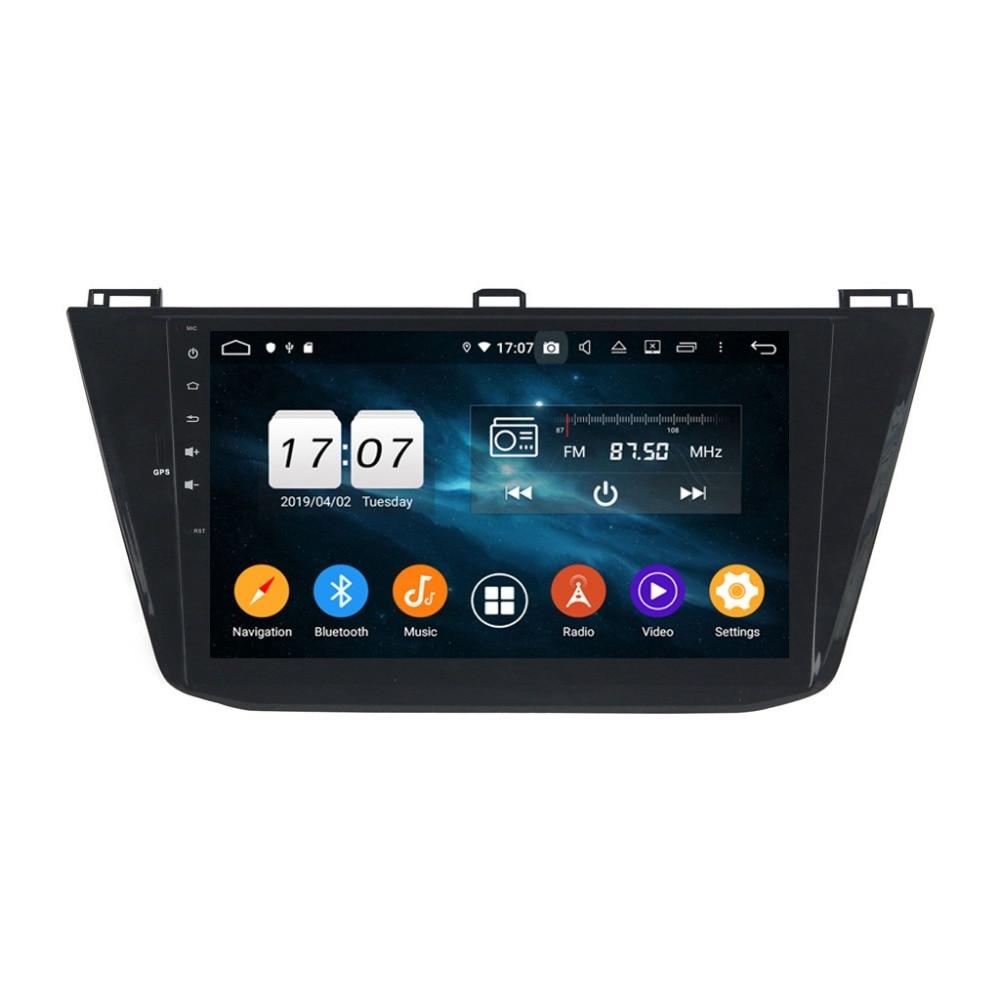 64G Android 9.0 pour VW Tiguan 2016 2017 2018 Octa Core PX5 voiture DVD multimédia GPS Navigation Auto radio lecteur dvd