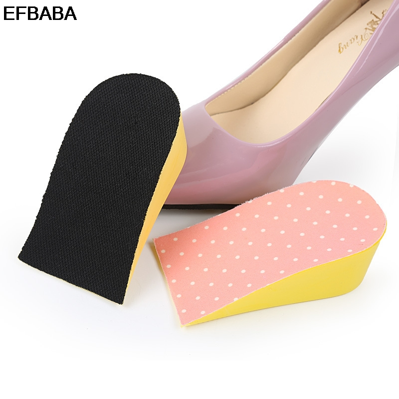 EFBABA Height Increase Insole Heel Inserts Sweat Breathable Damping Insoles Increased Pad Shoe Accessoire Chaussure 15-35mm