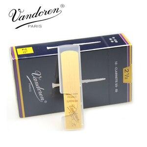 Image 4 - Ban Đầu Nước Pháp Vandoren Truyền Thống Bb Clarinet Lau Sậy/Reed Cho Clarinet Cường Lực 2.0 #2.5 #3.0 #3.5 # hộp 10 [Quà]]