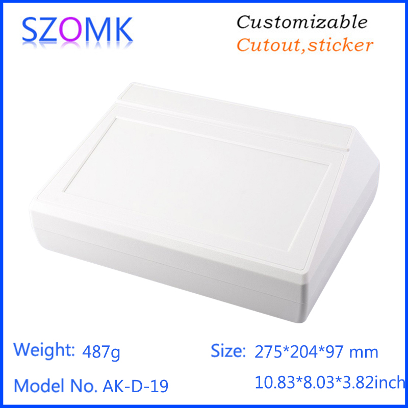 szomk top sales 2014 new enclosure (4pcs) 275*204*97mm plastic project box pcb enclosure enclosures for electronics plastic case