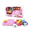 26 pçs/set supermercado brinquedo caixa registradora Pretend Play Crianças Brinquedo Educacional Do Bebê brinquedos clássicos