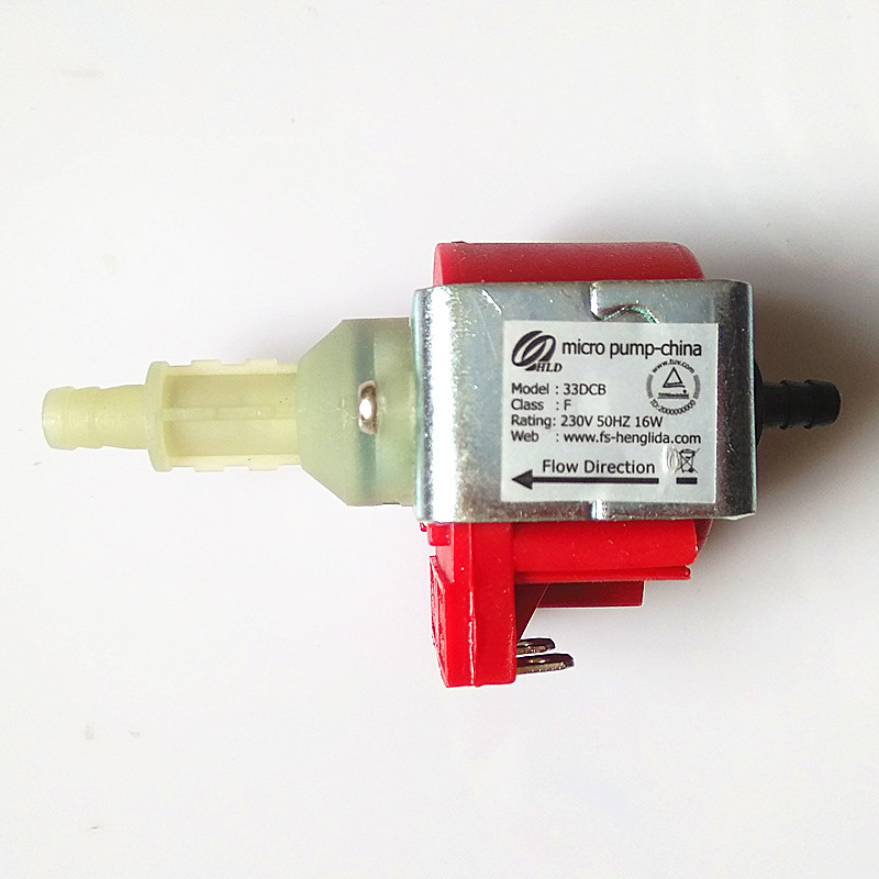 High-pressure electromagnetic pump model 33DCB-F power 230V-50Hz 16W