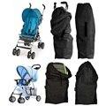 1 pc Saco de Viagem de Buggy Stroller Pram Do Bebê Da Tampa Do Caso Preto Bebê Infantil Carrinho De Ar Acessórios Do Carro