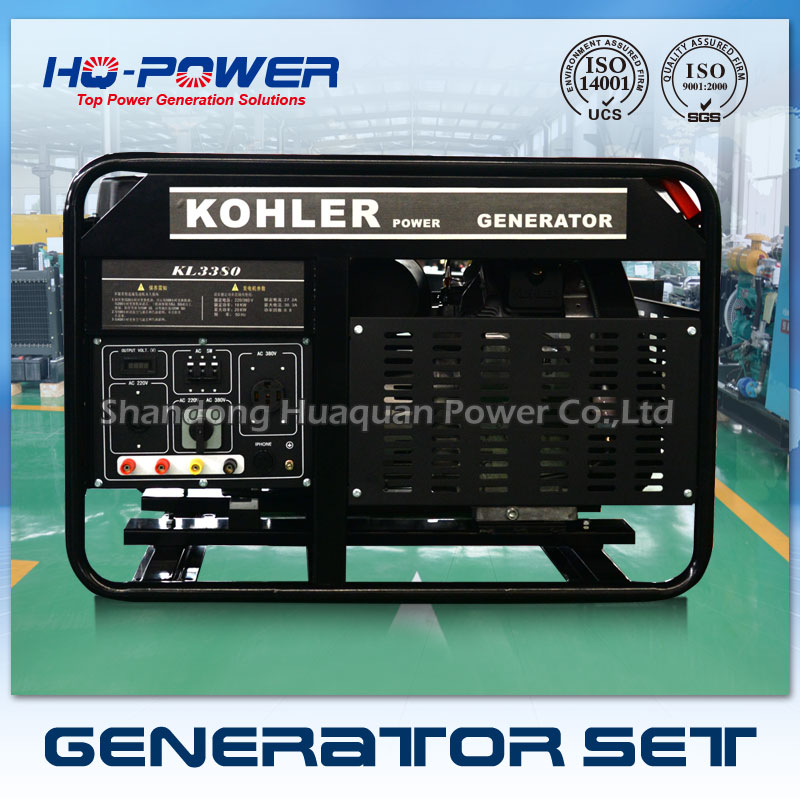 Бензиновый генератор 18