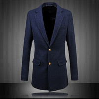 2016 New Arrival Men S Leisure Blazer Men Men S Long Casual Suit Jacket Casual High