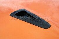 Car Accessories Carbon Fiber OEM Matte Finish Hood Scoop 2pcs Fit For 2008 2013 R35 GTR Hood Scoop Car styling