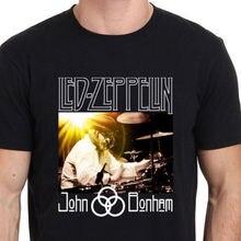 John Bonham Led Zeppelin Baterista Leyenda hombre Negro Camiseta Talla S a  3XL d5b3a3984c667
