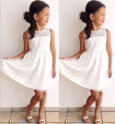 gedetailleerde foto's echte schoenen nieuwe aankomst US $5.99  Kids Meisjes Witte Prinses Bloem Tutu Jurk Party Voor 2 11Y in  Kids Meisjes Witte Prinses Bloem Tutu Jurk Party Voor 2-11Y van Jurken op  ...