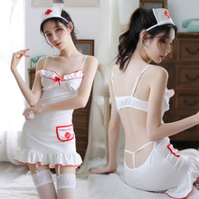 Women Sexy Porno Costume Babydoll Lingerie Hot Erotic Nurse Cosplay Underwear Dress